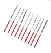 Miniature 10pc Diamond Needle File Set in Wallet